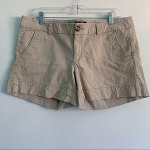 American Eagle Women's Chino Khaki Shorts